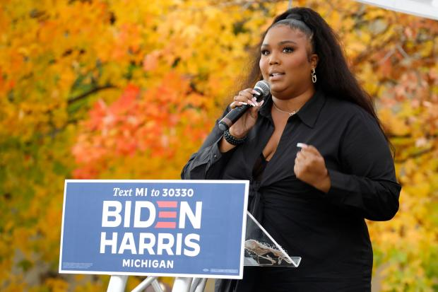US-VOTE-POLITICS-LIZZO-MUSIC