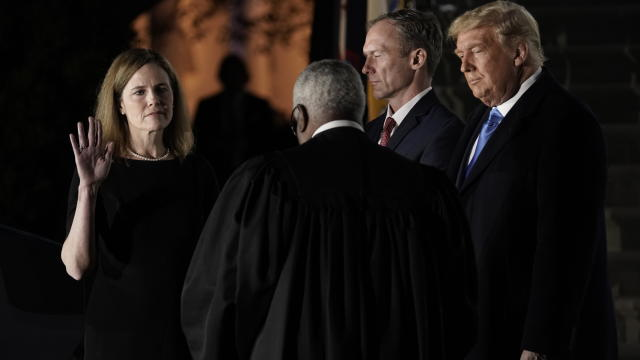 Swearing In Of Supreme Court Associate Justice Amy Coney Barrett