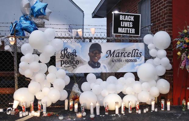 Marcellis Stinnette Protest