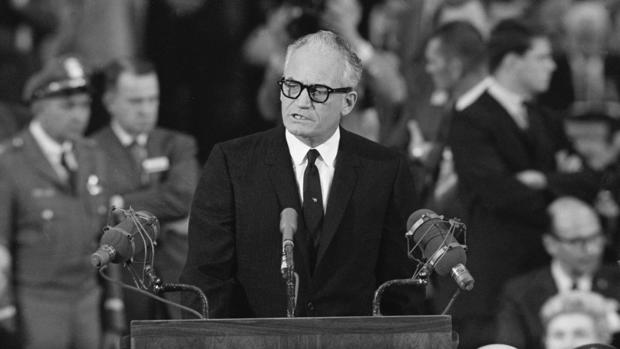 Barry Goldwater Accepts Republican Nomination