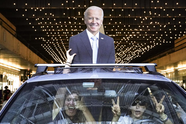 Nation reacts after Joe Biden is projected to win the 2020 election