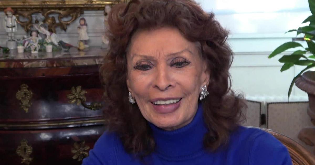 Sophia Loren On The Life Ahead Cbs News
