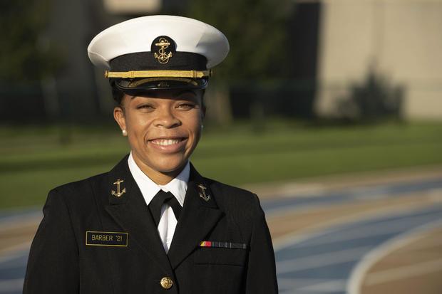 Naval Academy-Woman Brigade Leader
