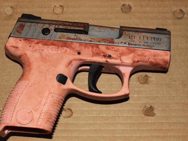 Gun used in Christy Martin shooting