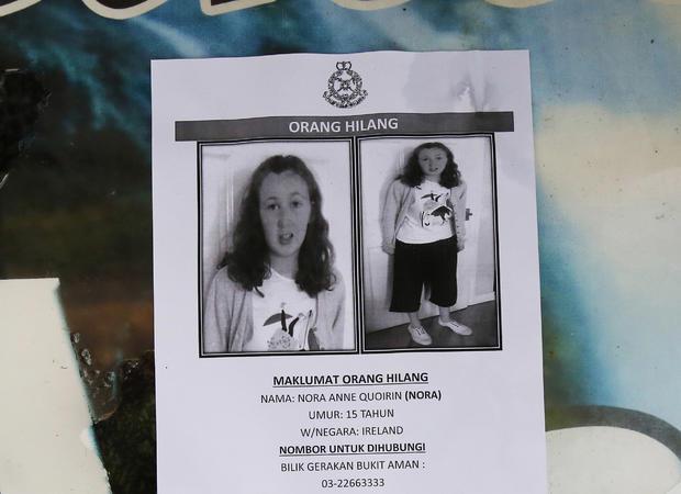 Malaysia UK Missing Schoolgirl