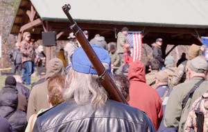 "Militias take aim at gun laws: ""It's about shooting tyrants in the face"""