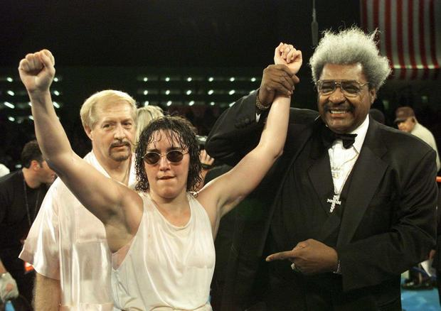 Christy Martin and Don King