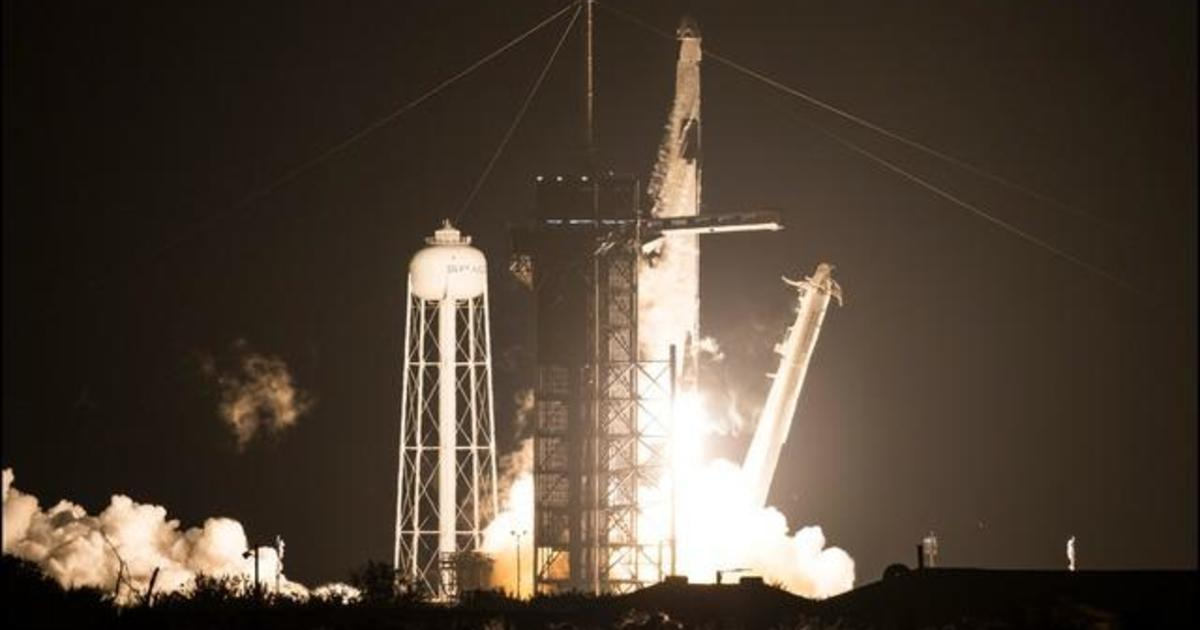 SpaceX launches first full NASA crew to the International Space Station