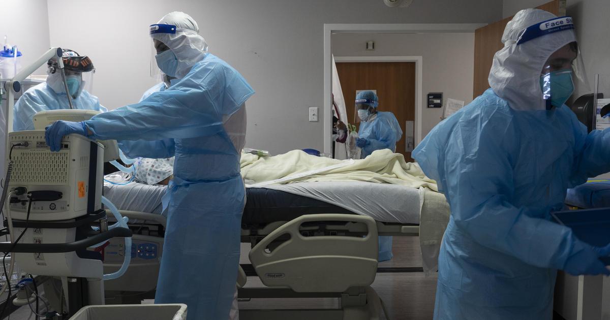 Hospitals overrun as U.S. reports 1 million new coronavirus cases in a week