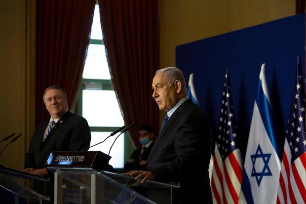 U.S. Secretary of State Pompeo meets Israeli PM Netanyahu in Jerusalem