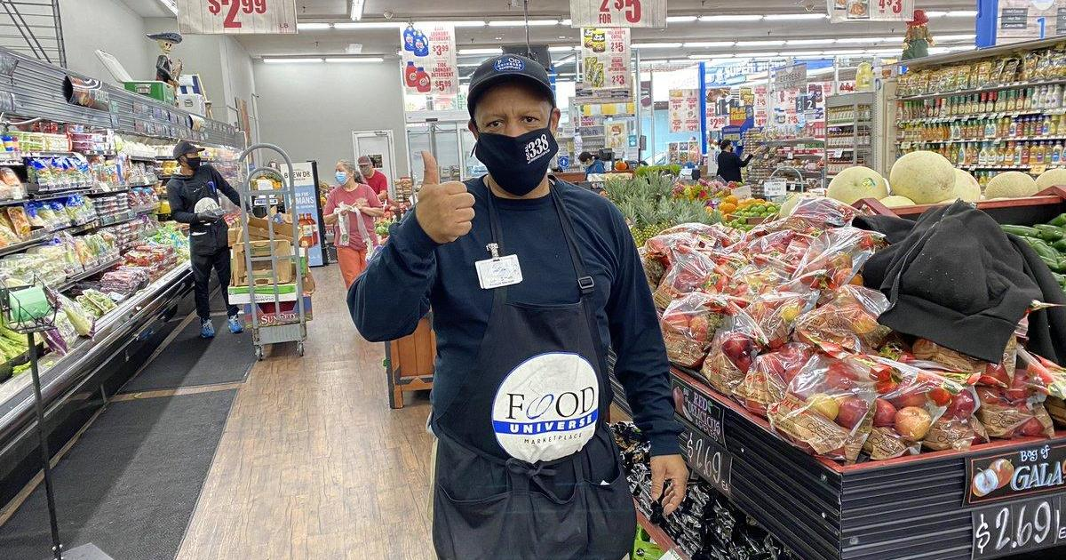 Grocery store workers fear getting sick as coronavirus cases continue to climb