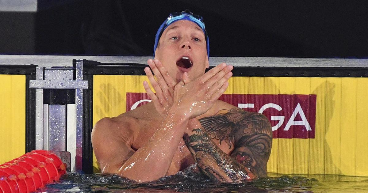 U.S. swimmerbreaks two world records in 40 minutes