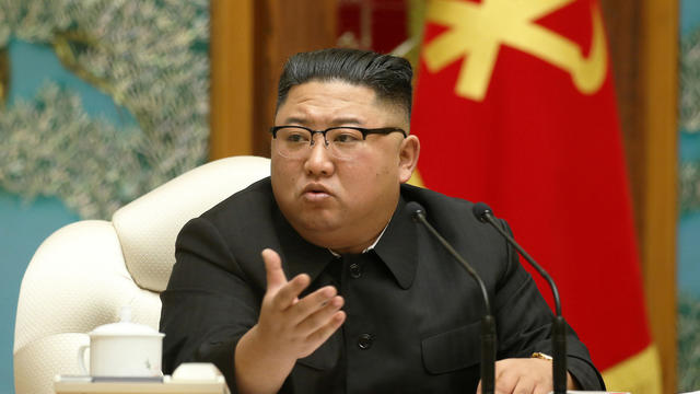 North Korean leader Kim Jong Un is seen at a meeting in Pyongyang, North Korea, in this undated photo released on November 16, 2020, by North Korea's Korean Central News Agency.