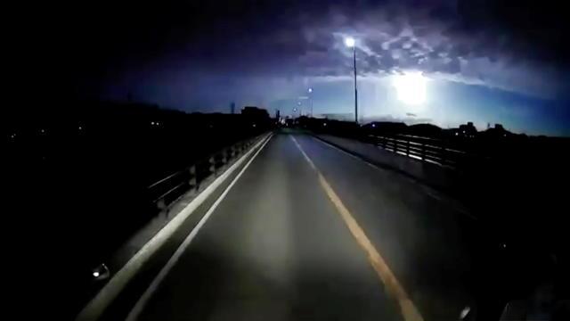 A meteor falls in Tatsuno