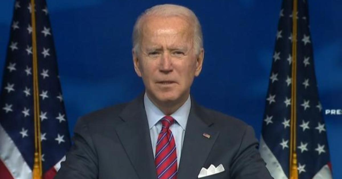 Biden pushes Congress to provide relief for out-of-work Americans
