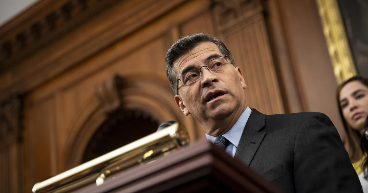 Xavier Becerra nominated by Biden to lead Department of Health and Human Services