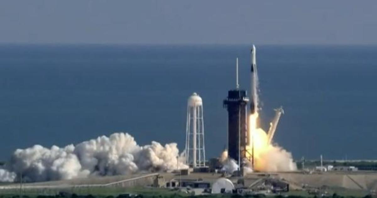 SpaceX launches next-generation Dragon cargo ship to the International Space Station