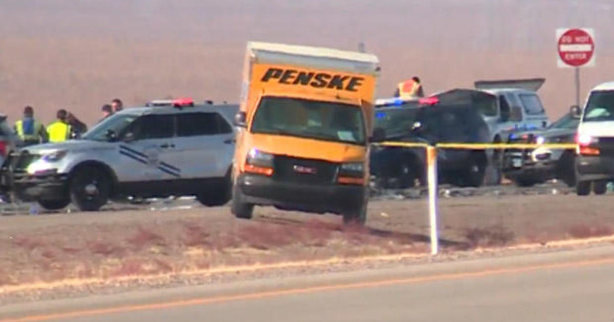 5 dead after truck hits group of bicyclists on Nevada highway – CBS News