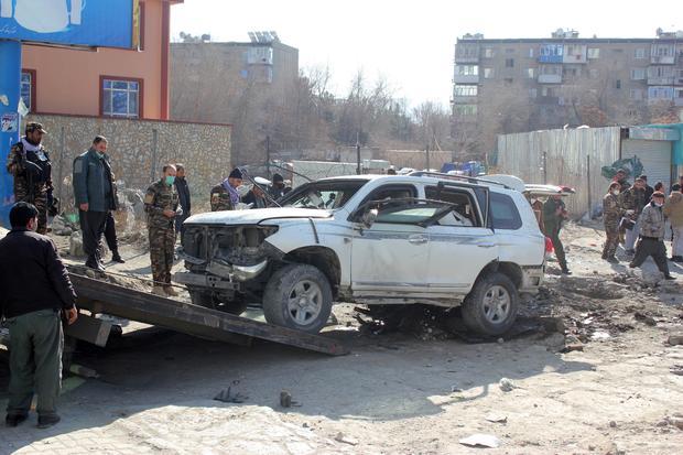 Deputy Governor of Kabul Mahbubullah Muhibbi killed in a bomb blast in Afghanistan