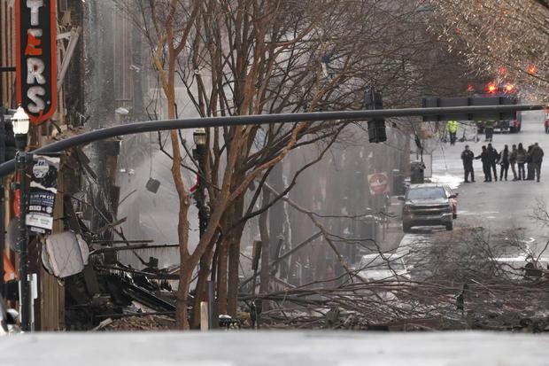 Nashville explosion damage