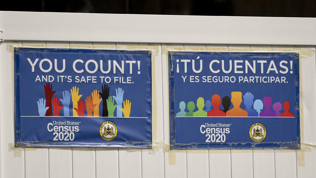 Signs To Promote 2020 Census In Reading Pennsylvania