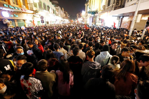 New Year's Eve celebrations amid COVID-19 pandemic, in Hanoi