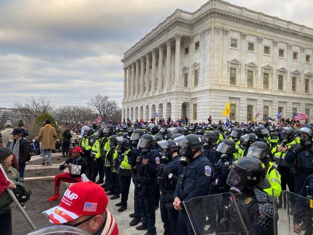 Trump supporters storm Capitol