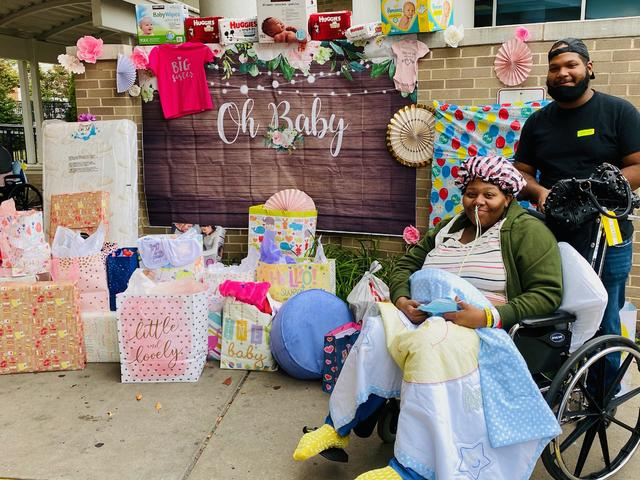 ICU nurse throws baby shower for mother who survived COVID-19