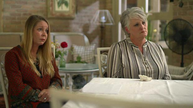 Christie Chatterton and Pam Swearingen