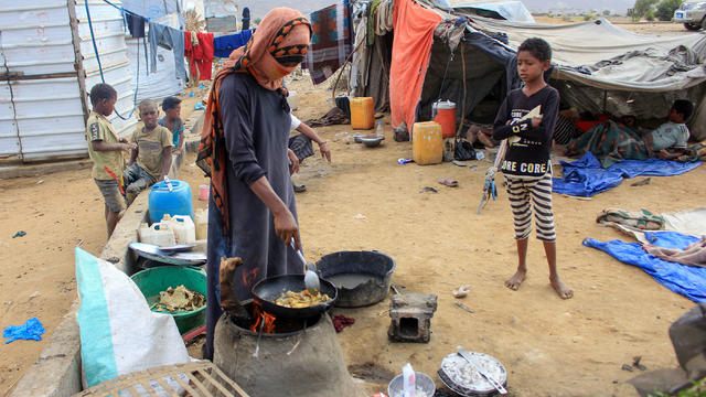 YEMEN-CONFLICT-DISPLACED-AID