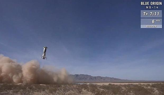 Blue Origin launches New Shepard test flight, looks ahead to sending passengers into space