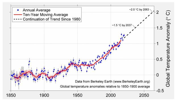 "2020 is ""effectively tied"" for warmest year on record"
