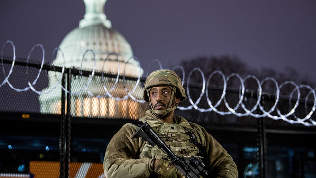 Security On Capitol Hill for the Inauguration