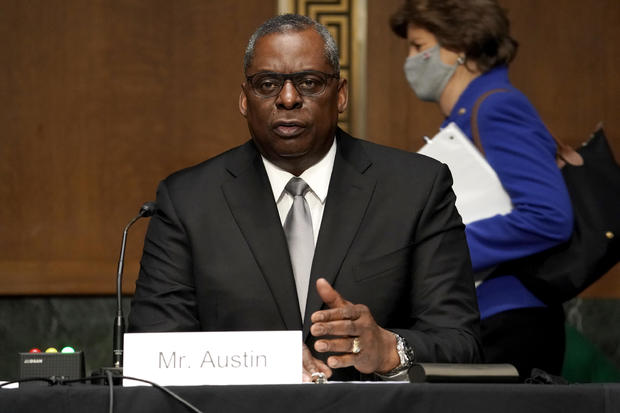 Biden Defense Secretary Nominee Lloyd Austin Testifies At Senate Hearing