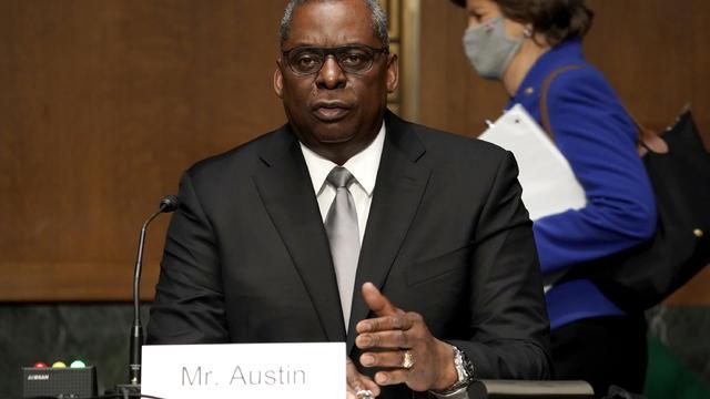 Biden Defense Secretary Nominee Lloyd Austin Testifies At Senate Hearing