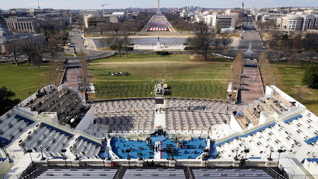 Preparations ahead of the 59th Presidential Inauguration in Washington