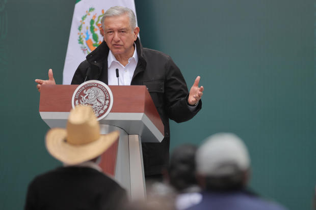 President Lopez Obrador Holds Report on The 43 Missing Students From Ayotzinapa