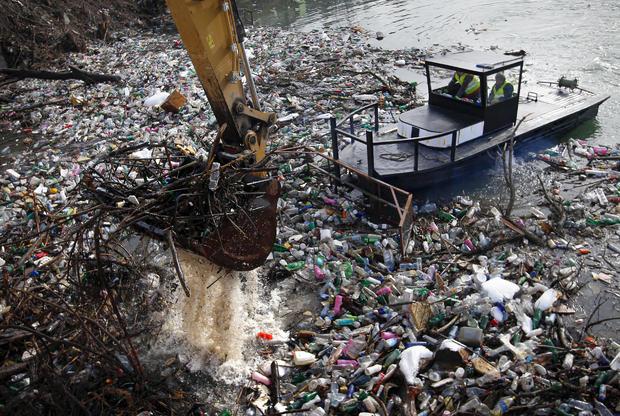 Serbia Balkans Waste Lake