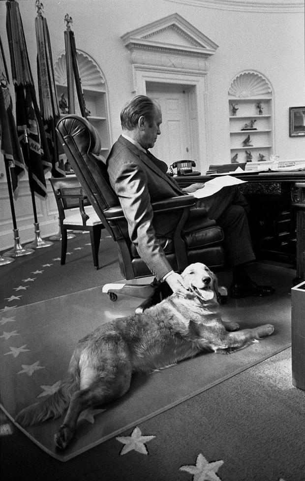 Ford and Liberty in the Oval Office