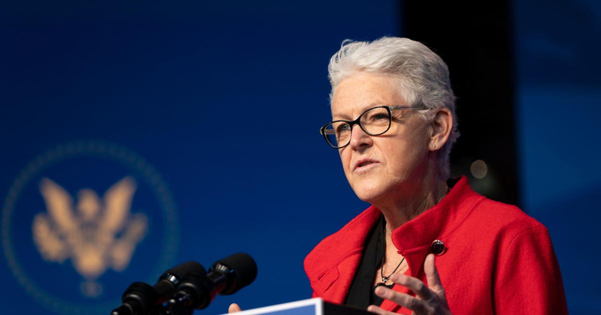 Climate adviser Gina McCarthy on Biden's ambitious climate agenda