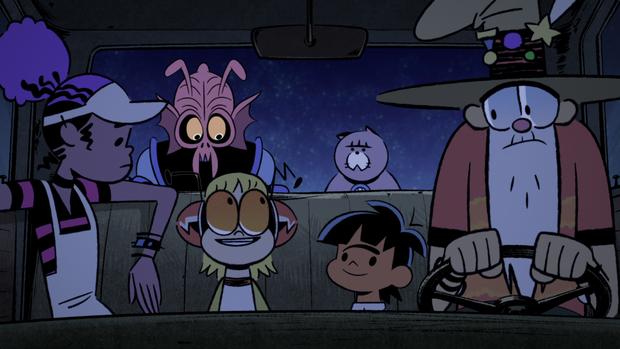 "Available Feb. 2 on Netflix: ""Kid Cosmic"" Season 1"