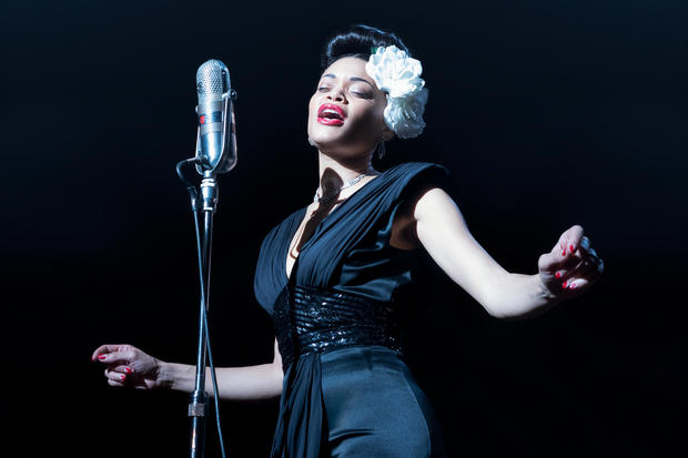 """Available Feb. 26 on Hulu: """"The United States vs. Billie Holiday"""""""