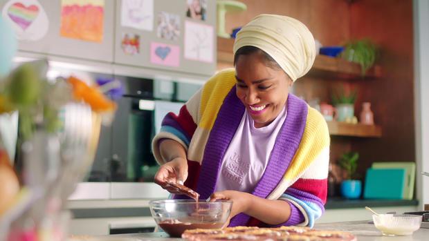 "Available Feb. 12 on Netflix: ""Nadiya Bakes"" Season 1"