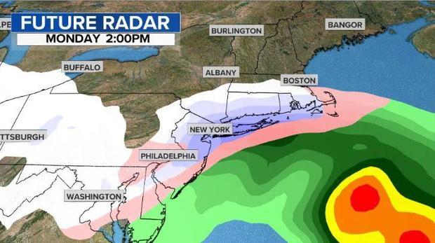 Snow storm Future-radar2
