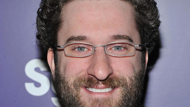"Dustin Diamond attends the ""Mega Python vs. Gatoroid"" premiere at the Ziegfeld Theatre on January 24, 2011, in New York City."