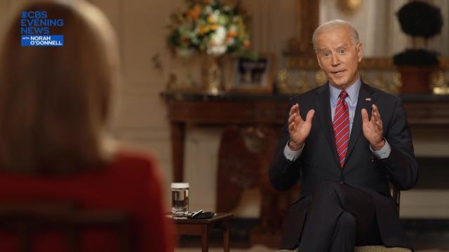 Joe Biden — Norah O'Donnell