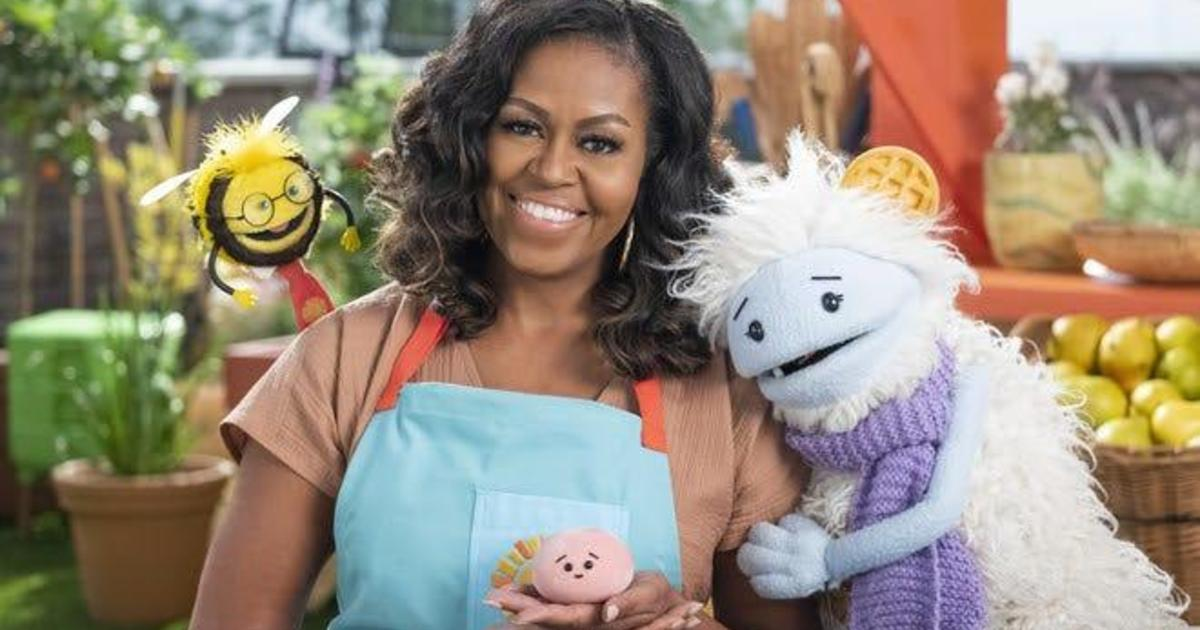Michelle Obama returns to Netflix with new children's cooking show called