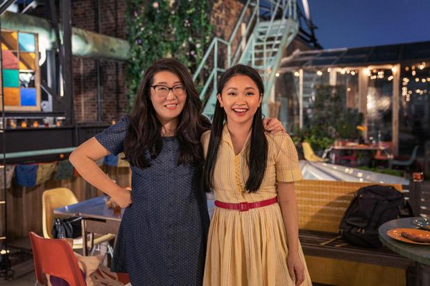 Jenny Han and Lana Condor