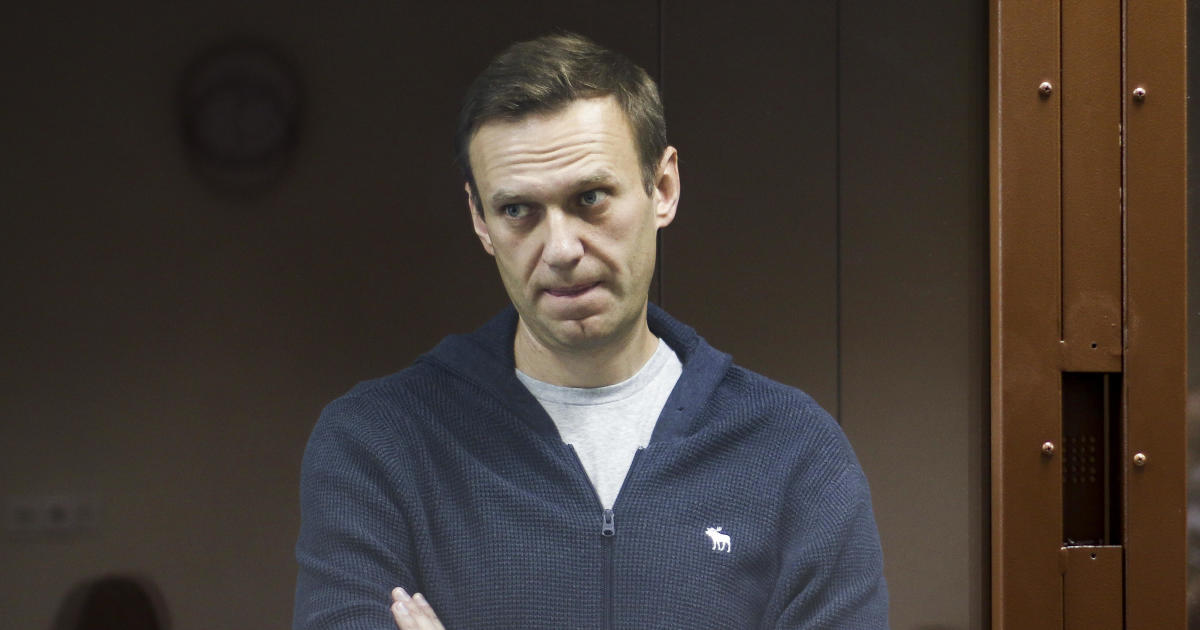 """Russia's Navalny moved to prison, but Amnesty International says he's no """"prisoner of conscience"""""""