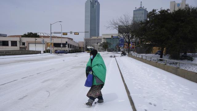 Texas — winter storm